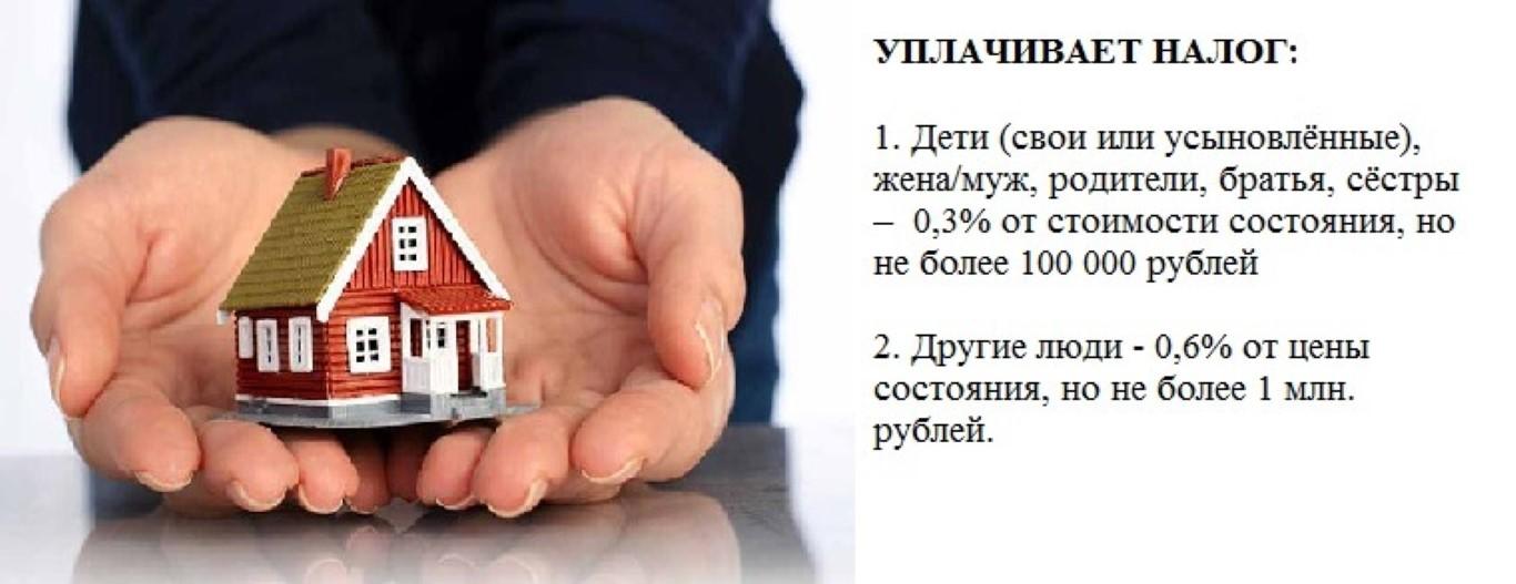 Надо ли платить налог на наследство